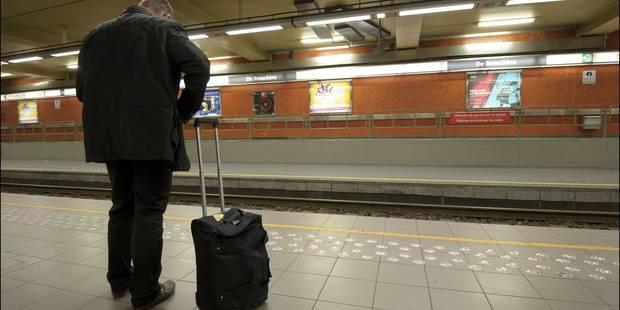 Plusieurs stations de métro bruxelloises ne seront pas desservies ce week-end - La Libre