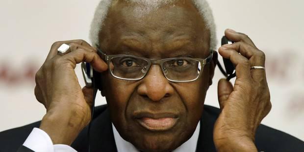 Lamine Diack a démissionné du Comité international olympique - La Libre