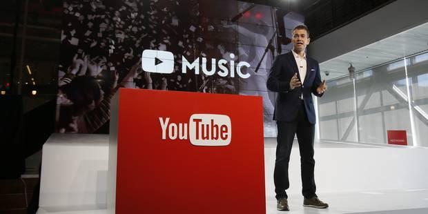 YouTube se lance sur le marché de la musique en streaming - La Libre