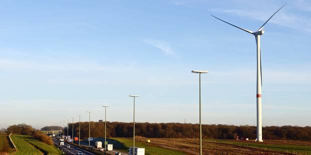 Walhain/Chaumont-Gistoux: des éoliennes le long de l'autoroute E411 - La Libre