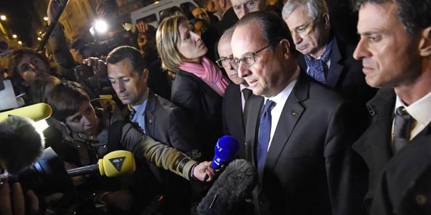 Au Stade de France, François Hollande entend une détonation, une seconde - La Libre