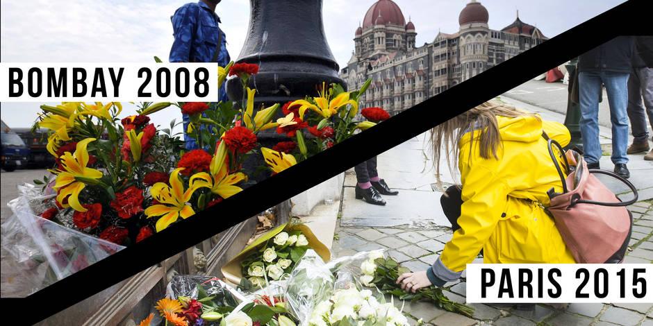 Bombay 2008 - Paris 2015 : de troublantes similitudes entre les attaques