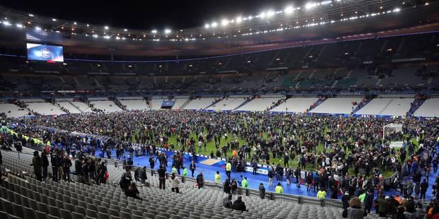 Attentats à Paris: l'équipe d'Allemagne a passé la nuit au Stade de France et hésite à affronter les Pays-Bas - La Libre