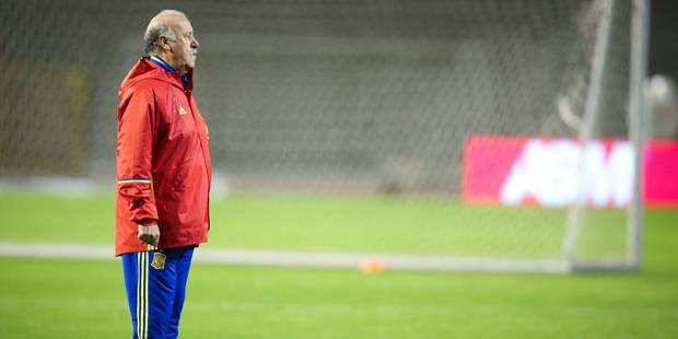 """Del Bosque: """"La Belgique est l'une des candidates pour le titre à l'Euro"""" (VIDEOS) - La Libre"""