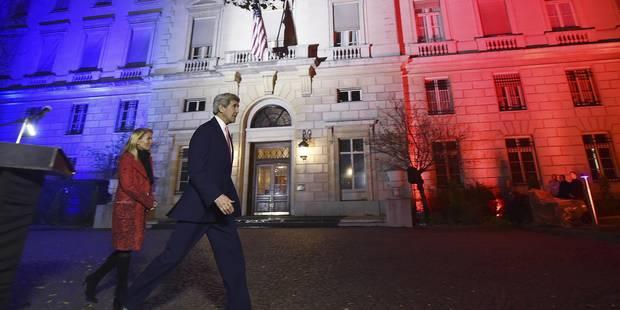 """""""Nous vaincrons Daech, ensemble"""", lance John Kerry à Paris - La Libre"""