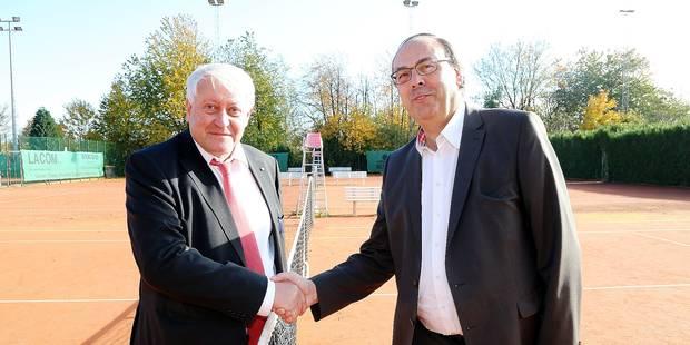 Tennis: les présidents des deux fédérations communautaires préparent la Coupe Davis - La Libre
