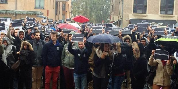 Un rassemblement contre la haine à Louvain-la-Neuve - La Libre