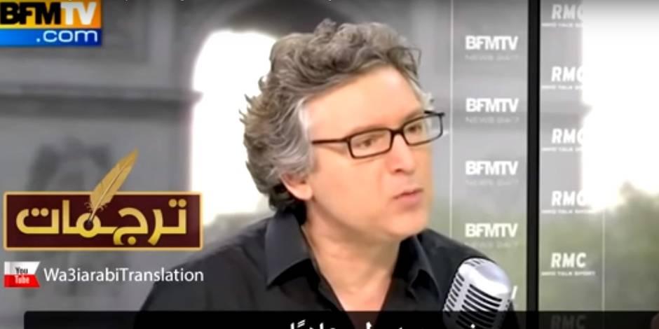 Onfray réagit à sa présence dans une vidéo de l'Etat islamique