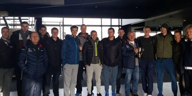 Coupe Davis: Murray enfin à l'entraînement - La Libre
