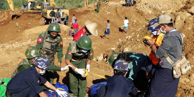 Birmanie: au moins 115 morts dans le glissement de terrain près d'une mine de jade - La Libre