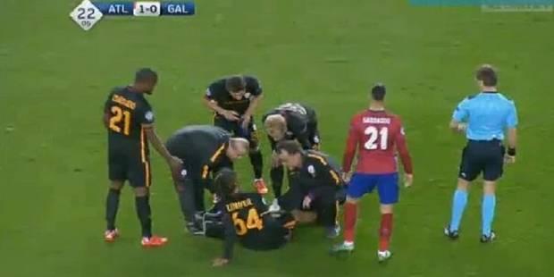 Belges en C1: Denayer sort blessé (VIDEO) - La Libre