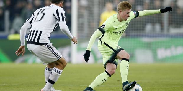 C1: La Juventus étouffe De Bruyne et City, Le PSG s'offre une manita, ManU accroché - La Libre
