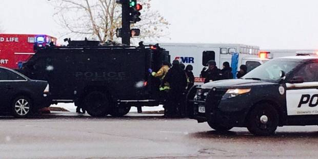Fusillade au Colorado : 4 policiers blessés - La Libre