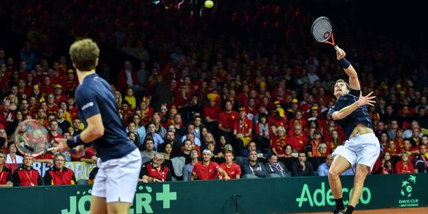 Coupe Davis: Les frères Murray trop forts pour la paire belge - La Libre