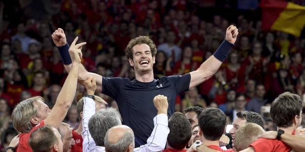 La Grande-Bretagne remporte la Coupe Davis - La Libre