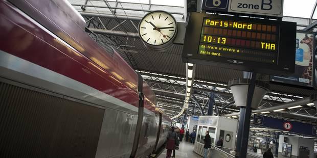 La ligne à grande vitesse Bruxelles-Lille a bien été sabotée - La Libre