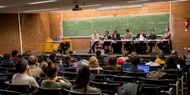 """Débat de jeunes politiques belges à l'ULB, une """"déception"""" et un """"échec"""" - La Libre"""