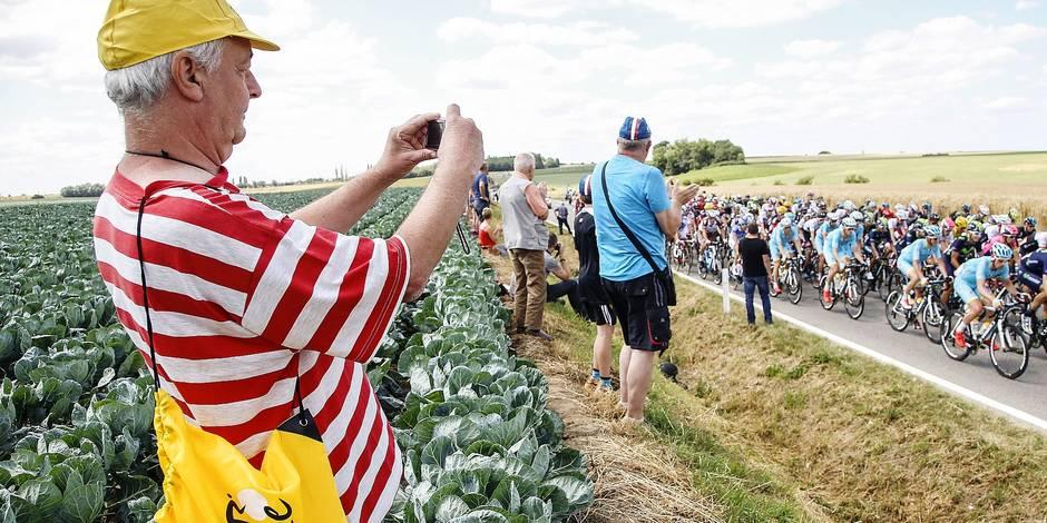Tour de France en province de Liège: opération blanche, oui mais? - La Libre