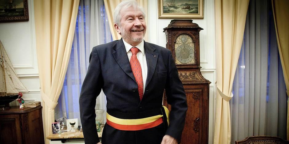 Willy Decourty, député et bourgmestre de la commune d'Ixelles.