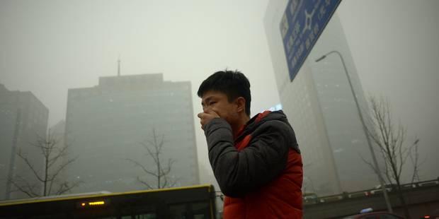 """Pékin en """"alerte rouge"""" à la pollution pour la première fois - La Libre"""