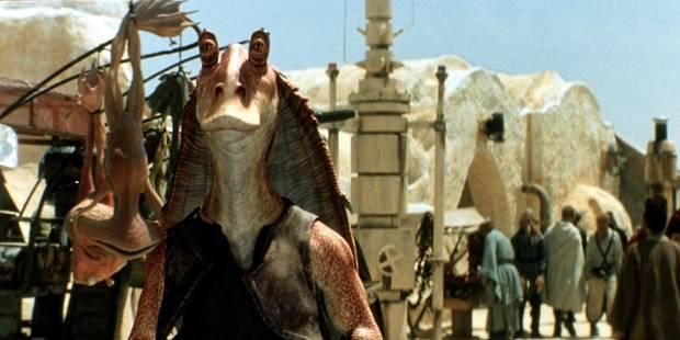 """Jar Jar Binks ne sera pas présent dans """"Star Wars : Le Réveil de la Force"""" - La Libre"""