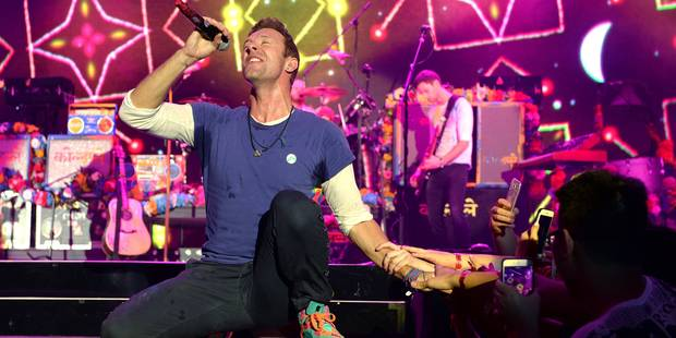 Coldplay diffusera son album en streaming sur Spotify - La Libre