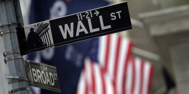 Wall Street finit en baisse dans un contexte instable - La Libre