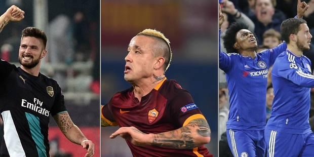 Ligue des champions: Arsenal renverse la vapeur, ça passe pour Chelsea et la Roma - La Libre