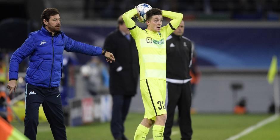 """L'entraîneur du Zenit, après la défaite à Gand: """"Cet arbitre était une honte"""""""
