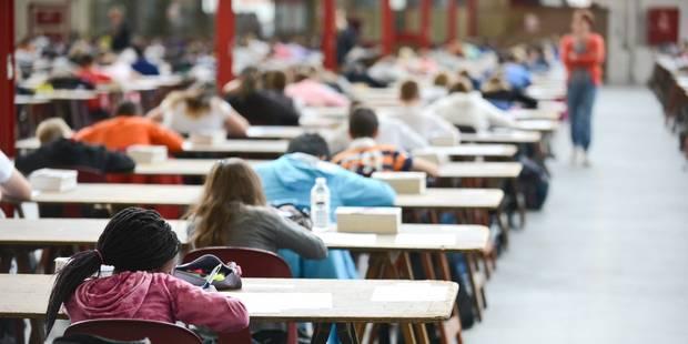 Fuites des épreuves certificatives : une trentaine de recommandations avancées - La Libre