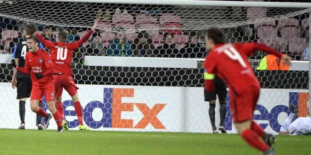 Europa League: le Club de Bruges sorti par Midtjylland (1-1) - La Libre