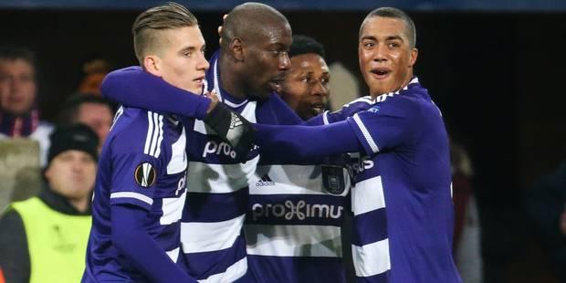 Europa League: Anderlecht se qualifie en 5 minutes face à Qarabag (2-1) - La Libre