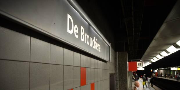 Bruxelles: 3 stations du métro fermées par sécurité ce dimanche - La Libre