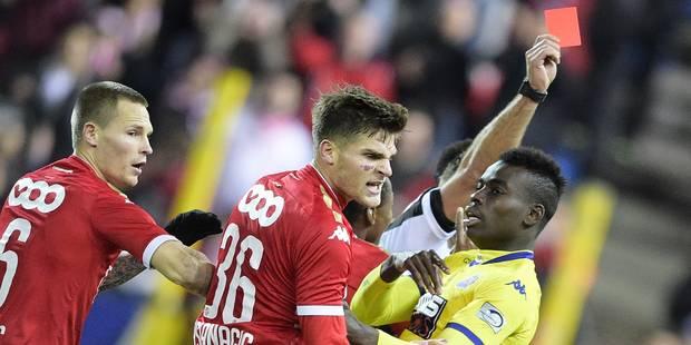 Arslanagic reste suspendu deux matches malgré l'appel du Standard - La Libre