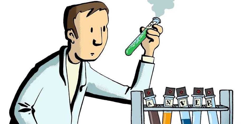 Le laboratoire anversois - La Libre