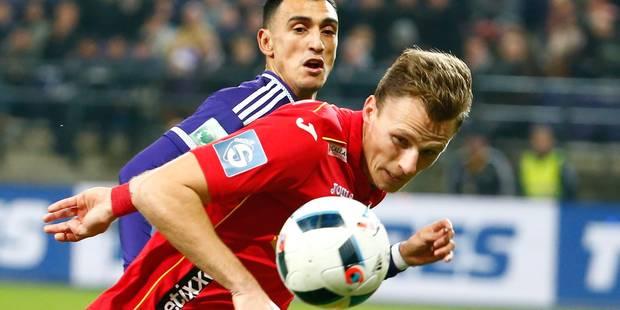 Berrier fusille Anderlecht et Ostende prend un point aux Mauves (1-1) - La Libre