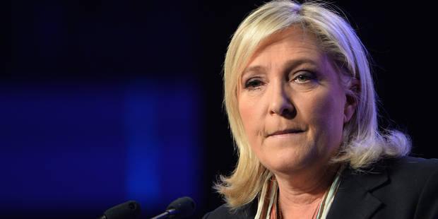 """Marine Le Pen: """"Rien ne pourra nous arrêter"""" - La Libre"""