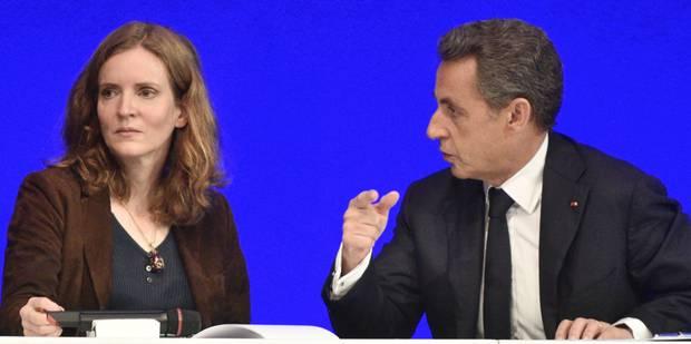 Gros clash entre Sarkozy et NKM - La Libre