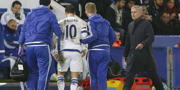 Eden Hazard sort blessé contre Leicester! (VIDEOS) - La Libre
