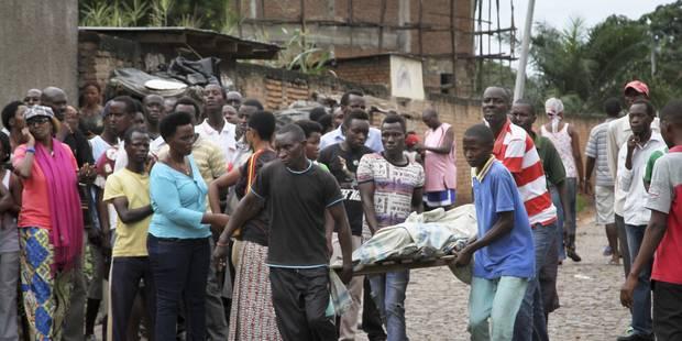 Comment le monde réagira-t-il au massacre au Burundi? - La Libre