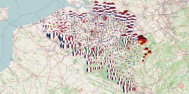 Découvrez les nationalités étrangères les plus représentées dans votre commune (CARTE) - La Libre