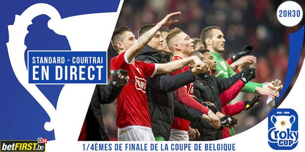 Standard - Courtrai: 1-0 (DIRECT) - La Libre