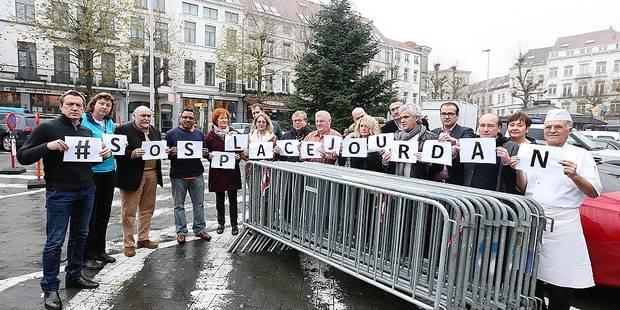 Etterbeek: les commerçants de Jourdan toujours en colère - La Libre