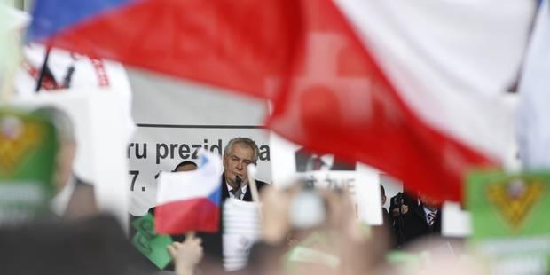 Crise des migrants: le président tchèque dérape lors de son discours de Noël - La Libre