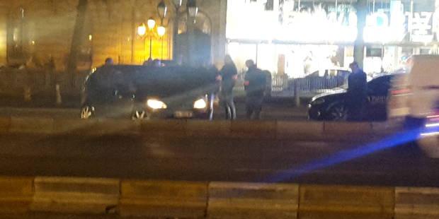 Bruxelles: des fuyards interceptés boulevard de Waterloo, la police ouvre le feu - La Libre