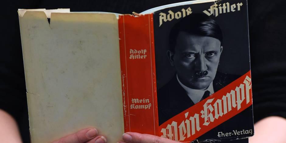 """Allemagne: le retour de """"Mein Kampf"""" dans les librairies comporte-t-il des risques? - La Libre"""