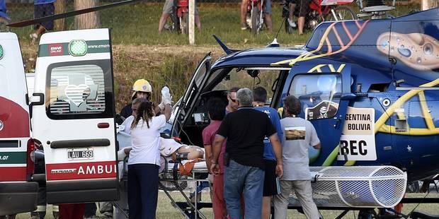 Dakar 2016: un garçon de 10 ans et son père blessés dans un accident - La Libre