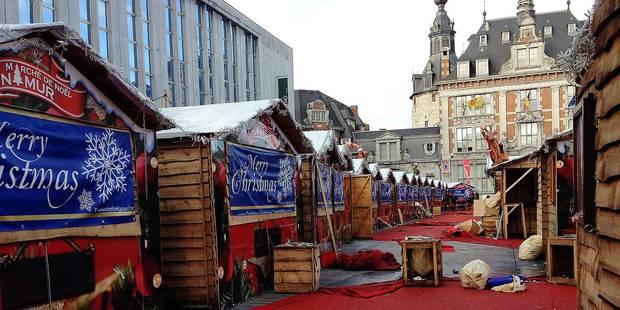 Namur: des marchés de Noël pas si catastrophiques - La Libre