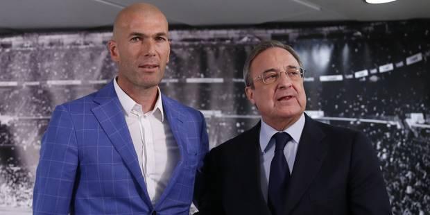 """Zidane entraîneur du Real: un """"défi fou"""", s'enthousiasme la presse - La Libre"""