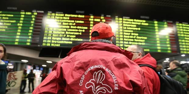 Grève du rail: grosses perturbations en Wallonie mais pas de bouchons exceptionnels - La Libre